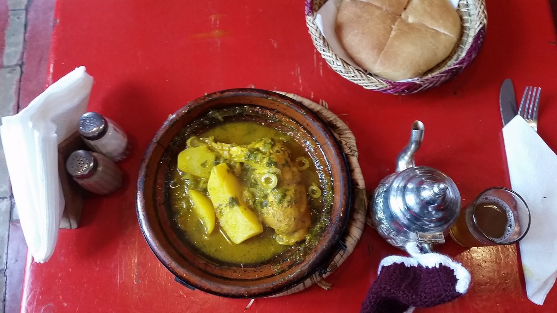 Tajine, eine Spezialität in Marokko.