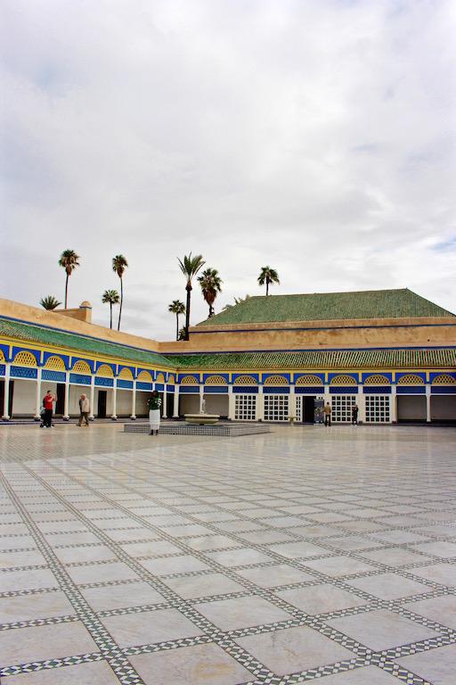 Der Bahia Palast in Marrakesch.