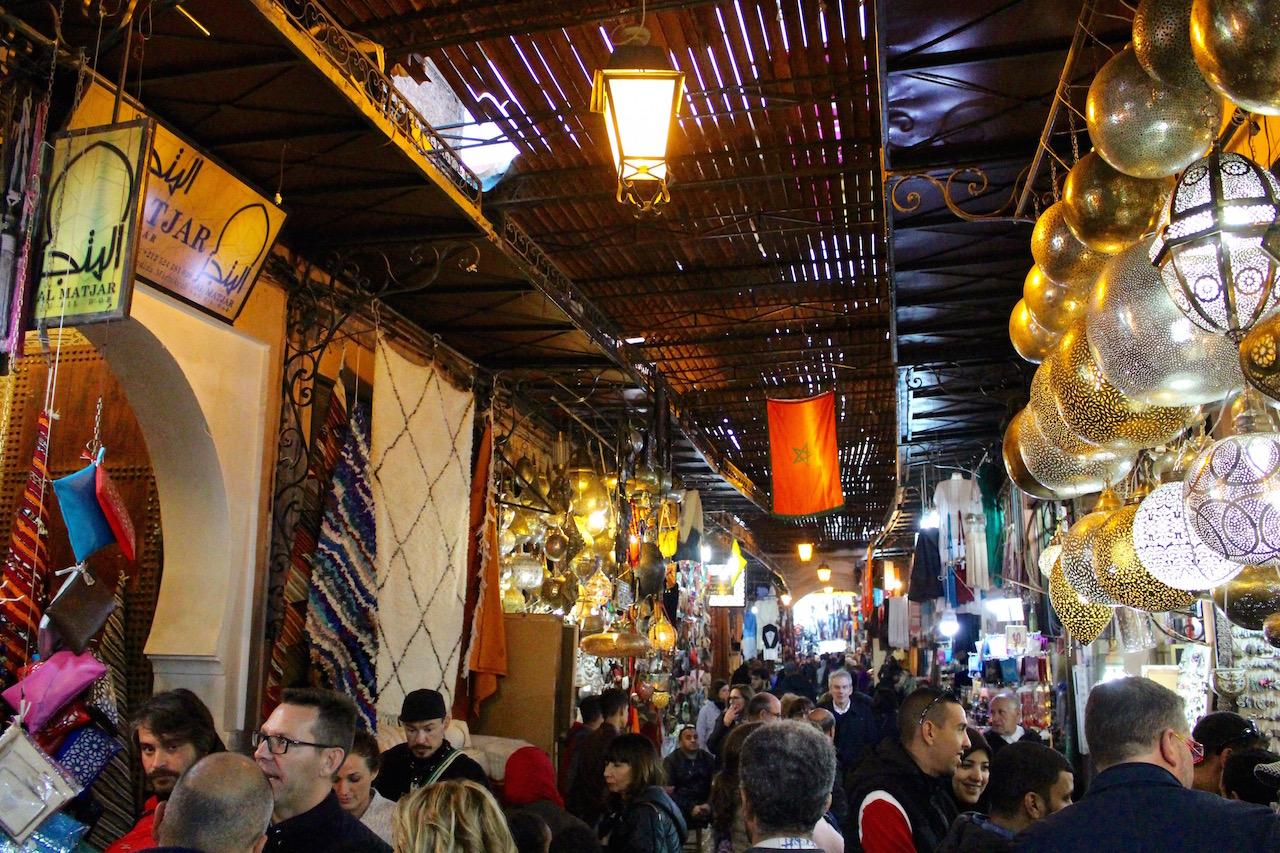 Wo gehts lang im Souk in Marrakesch?