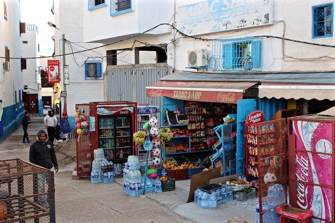 So sieht Shopping in Taghazout aus.