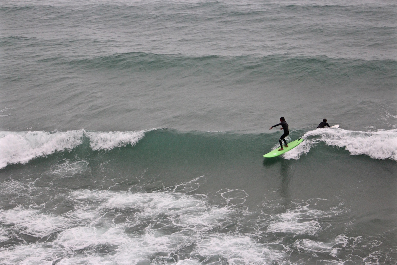 Surfsession in Taghazout