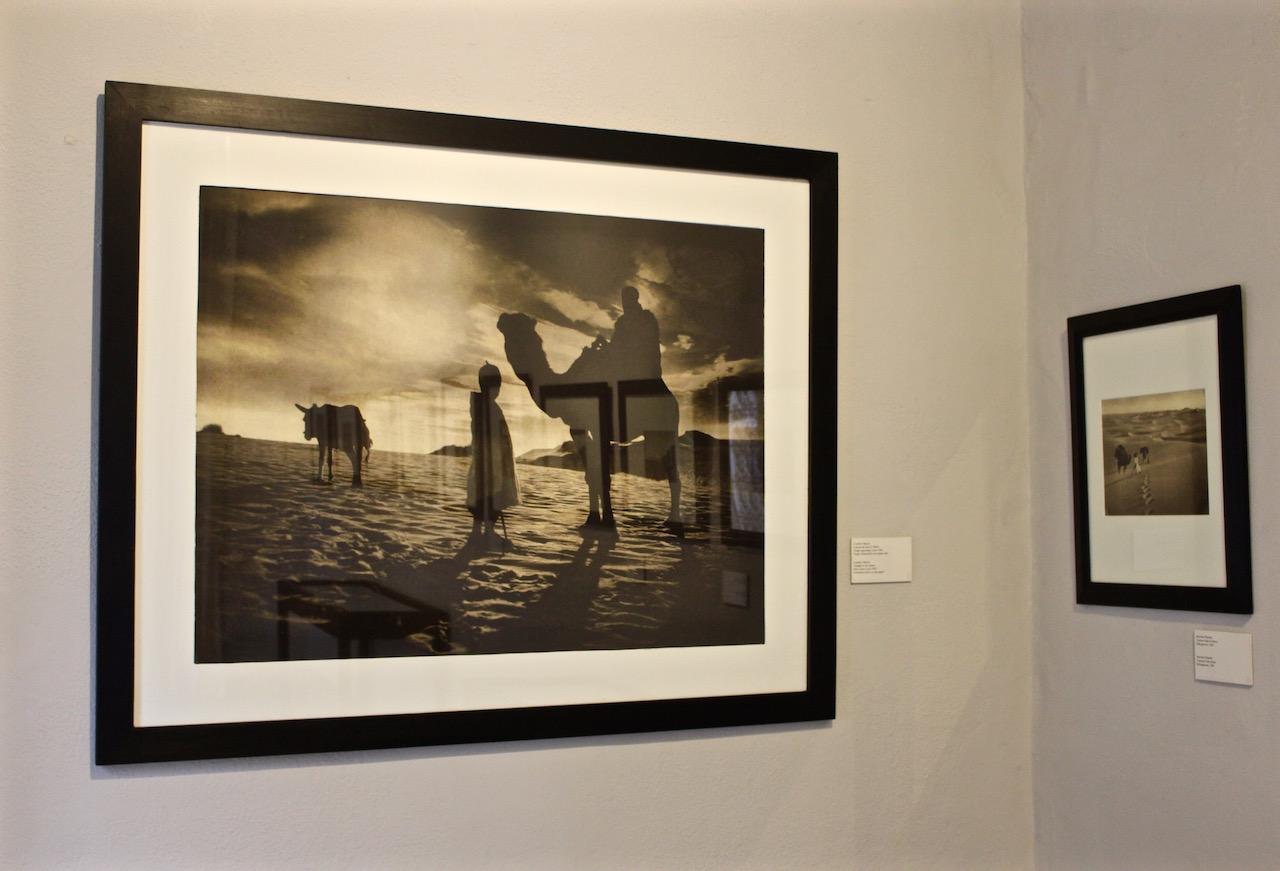 Kunstvolle Fotografien im Maison de la Photographie in Marrakesch.