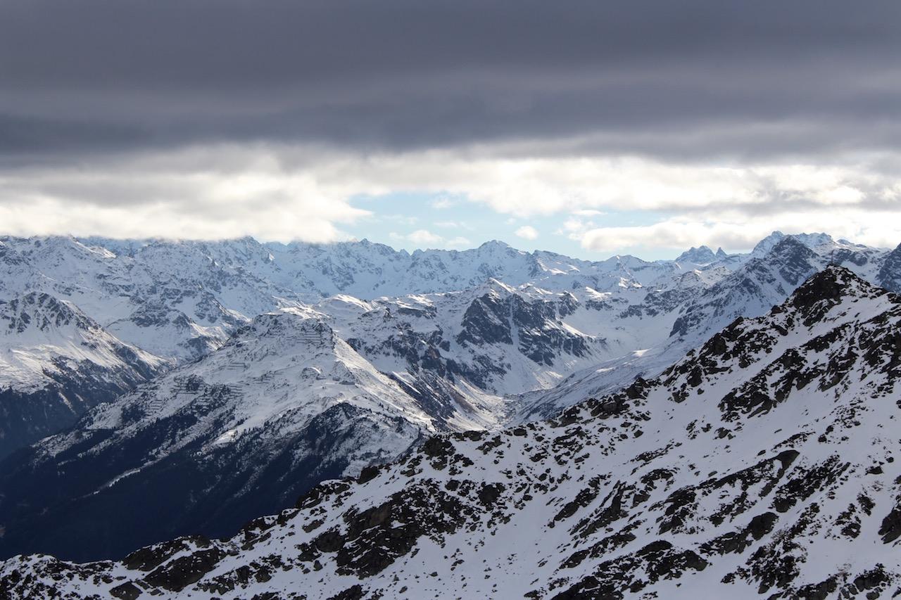 Silvretta-Montafon, ein super Skigebiet in Österreich.