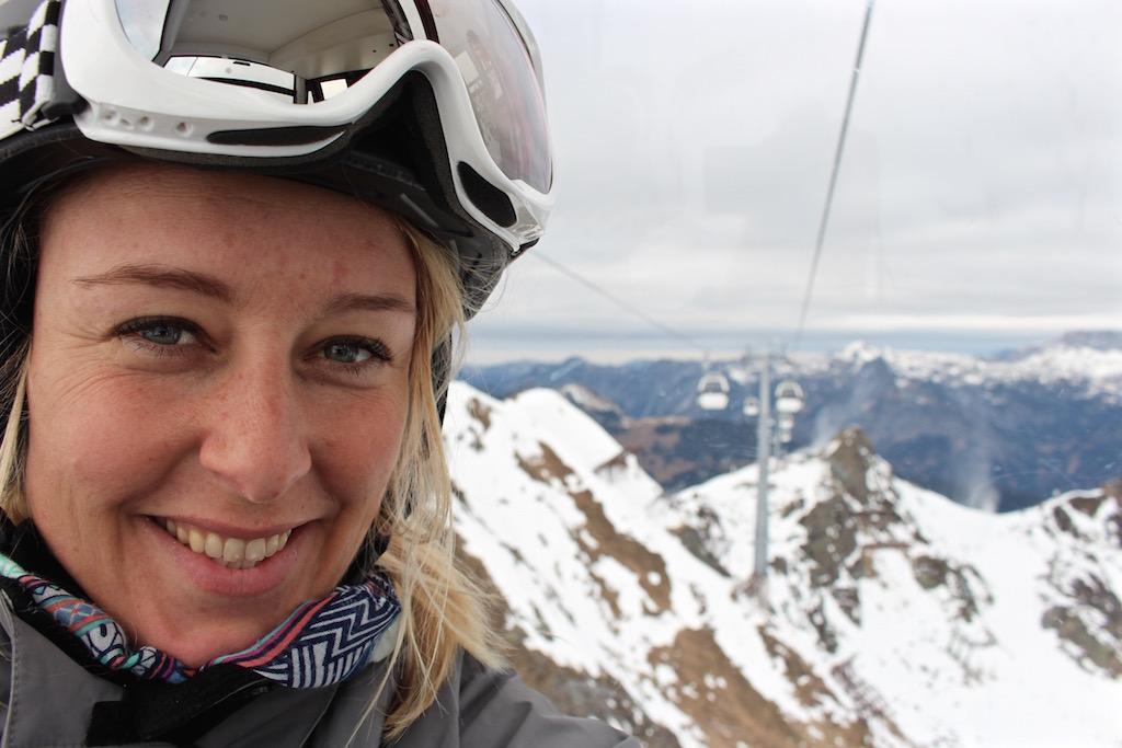 Zum Snowboardenim Montafon in Österreich.