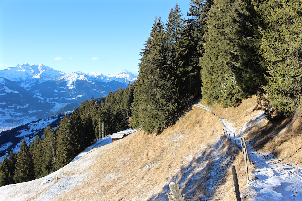 Wanderung auf den Kristberg im Montafon.