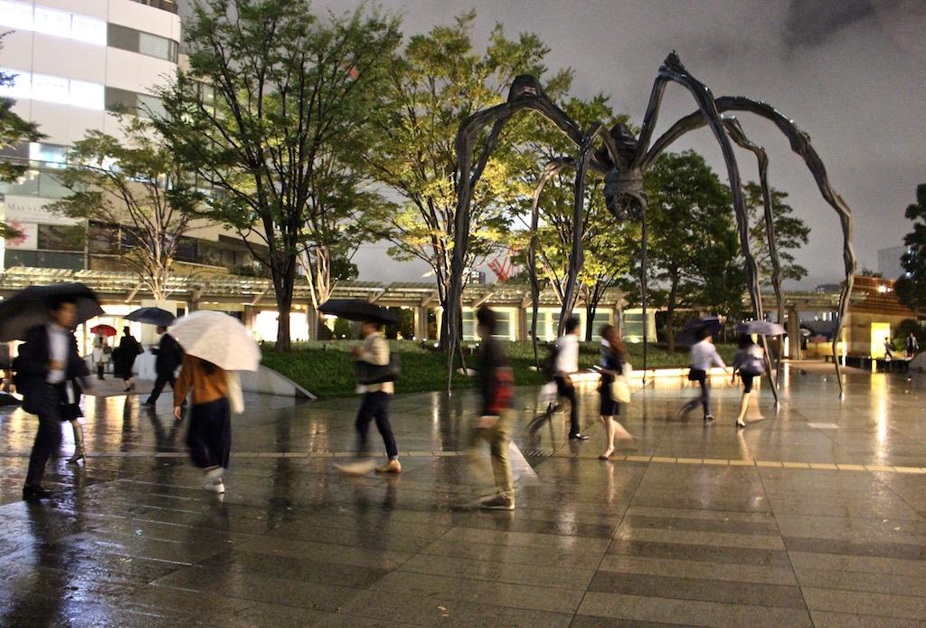 Beim Mori Art Museum in Japan.