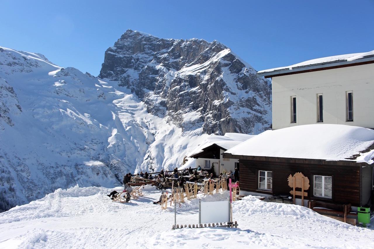 Das Restaurant Fürenalp in Engelberg.