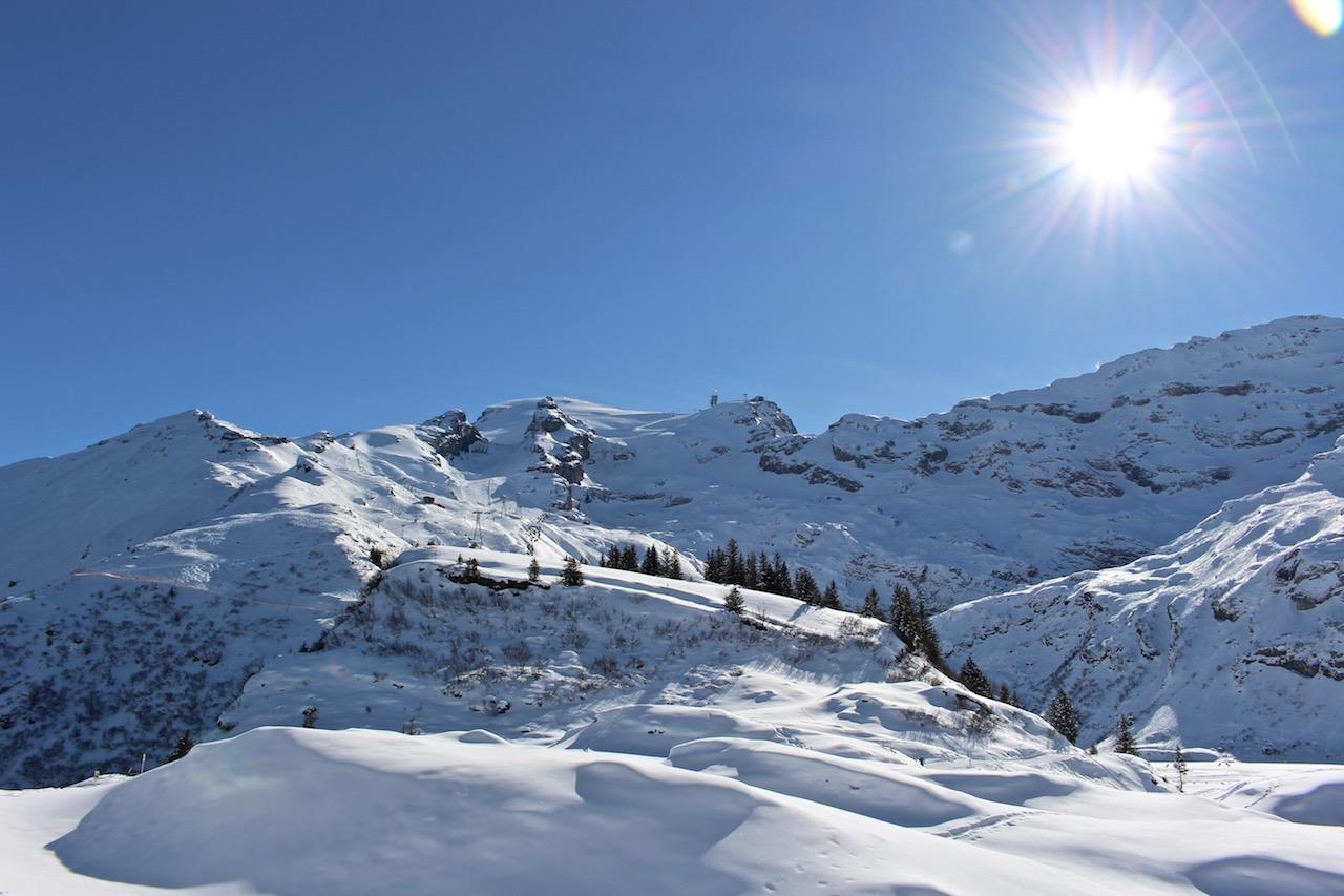 Die Schönheit des Winters in Engelberg!