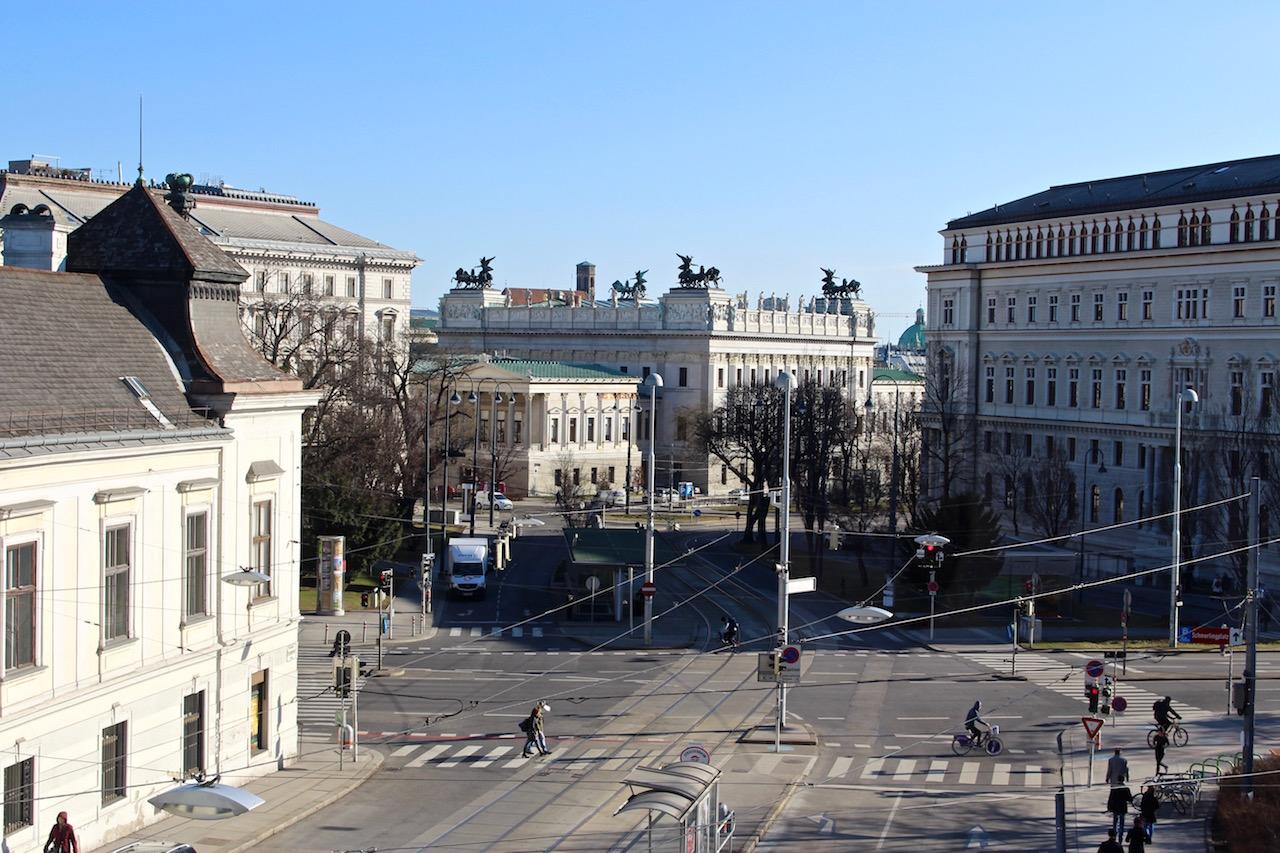 Wien beim Museumsquartier.
