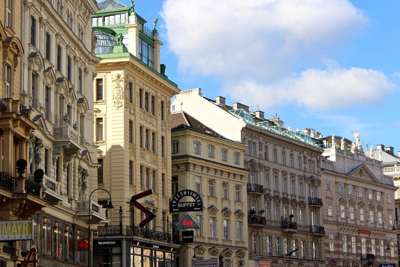 Stadtbild aus Wien