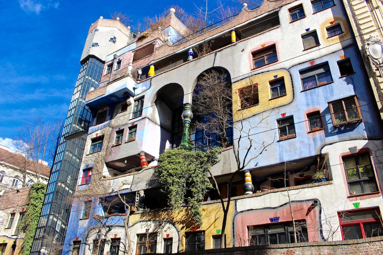 Nicht verpassen: Das Hunderwasser Haus in Wien!