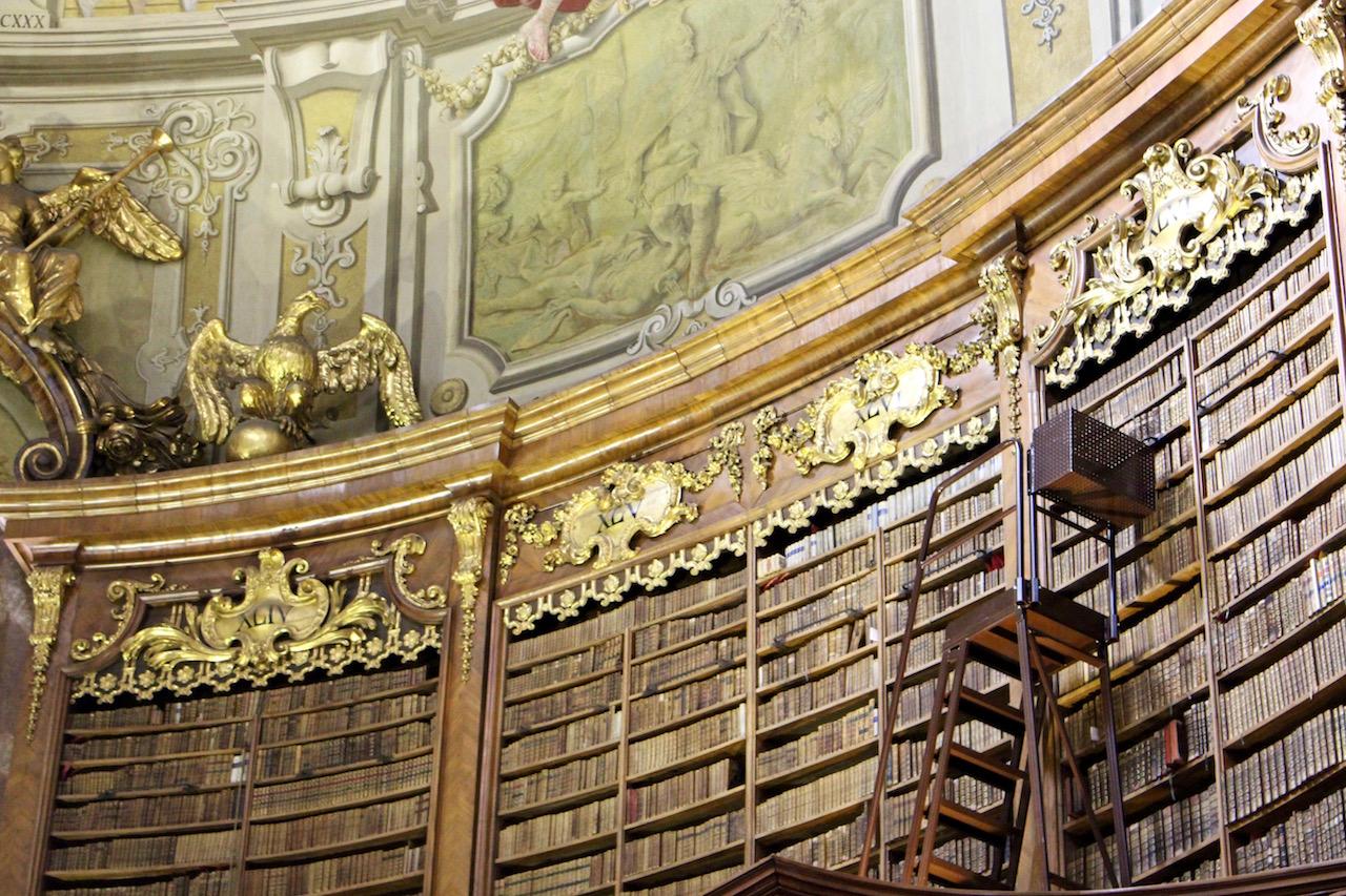 Ein Besuch in der Nationalbibliothek in Wien lohnt sich!