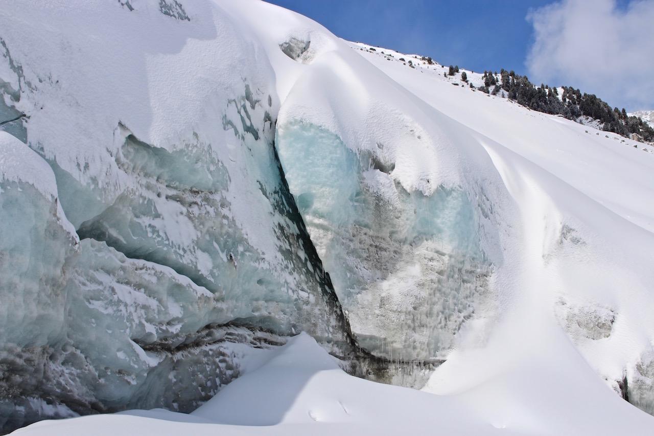 Der Gletscher ganz nah....