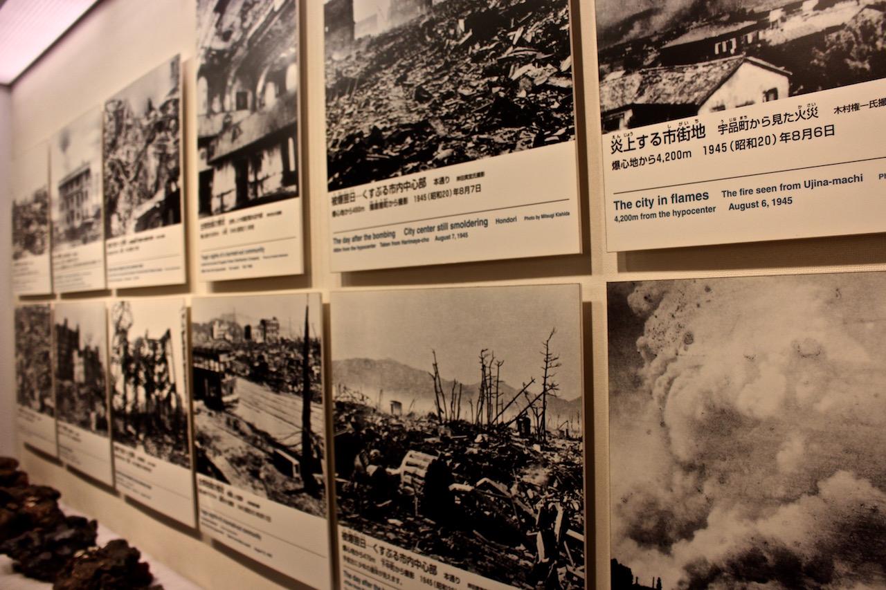 Das Friedensmuseum zeigt eindrücklich die Zerstörung Hiroshimas.