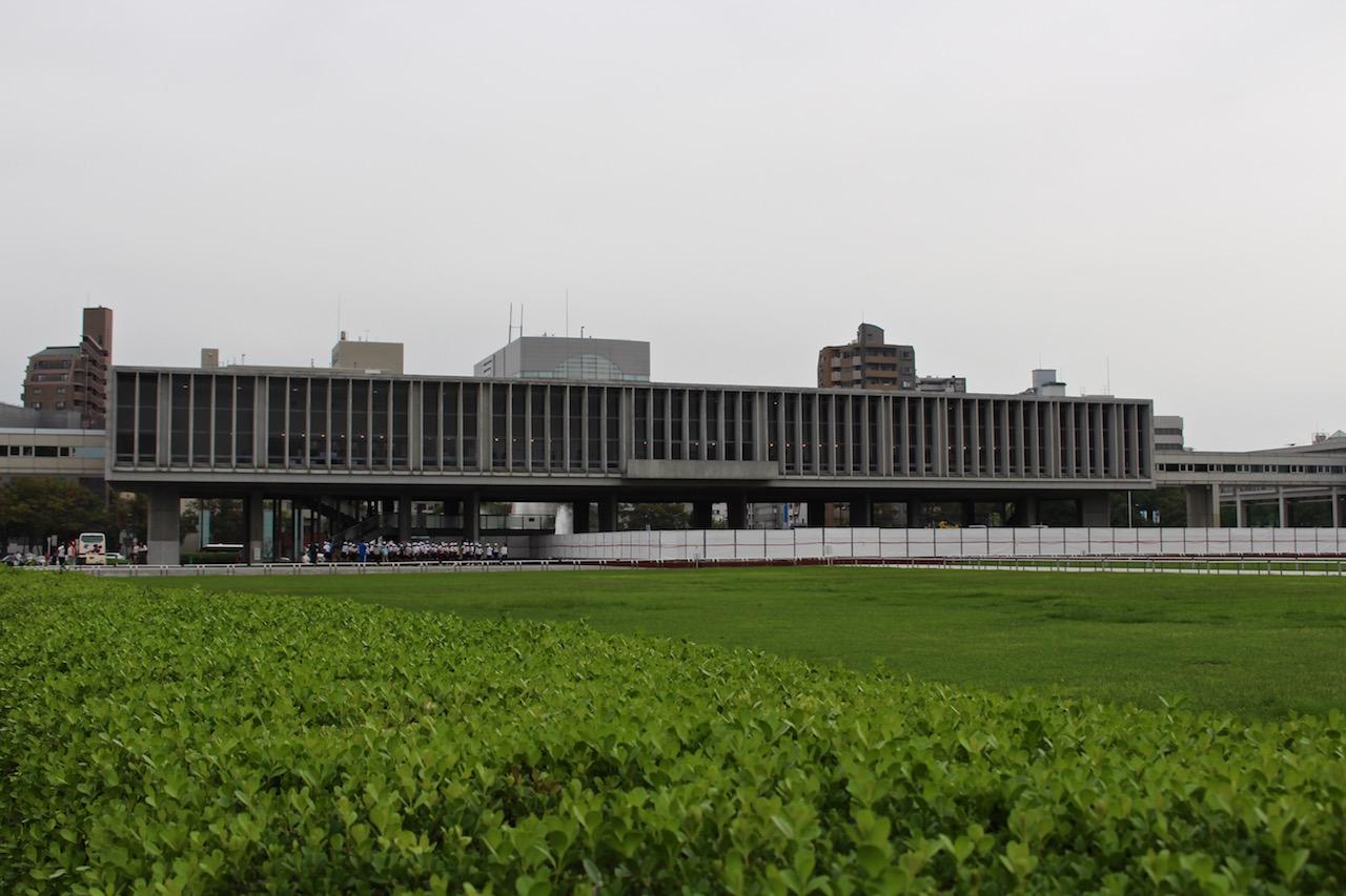 Das Friedensmuseum in Hiroshima.