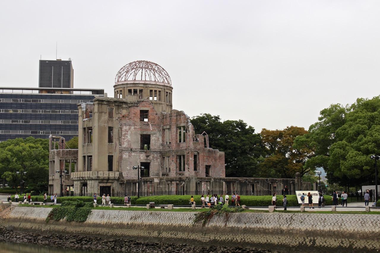 Der Atombombendom in Hiroshima.