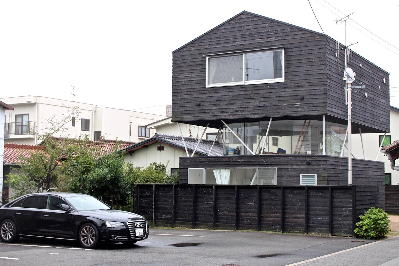 Interessante Architektur in Saijo.