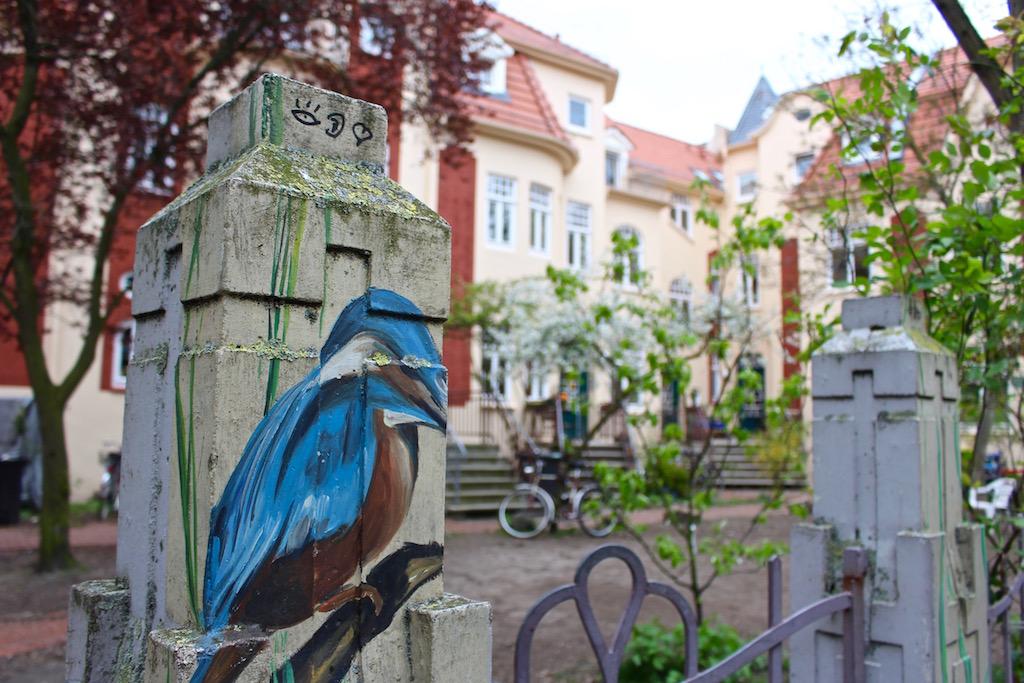 Das Viertel in Bremen ist farbenfroh!