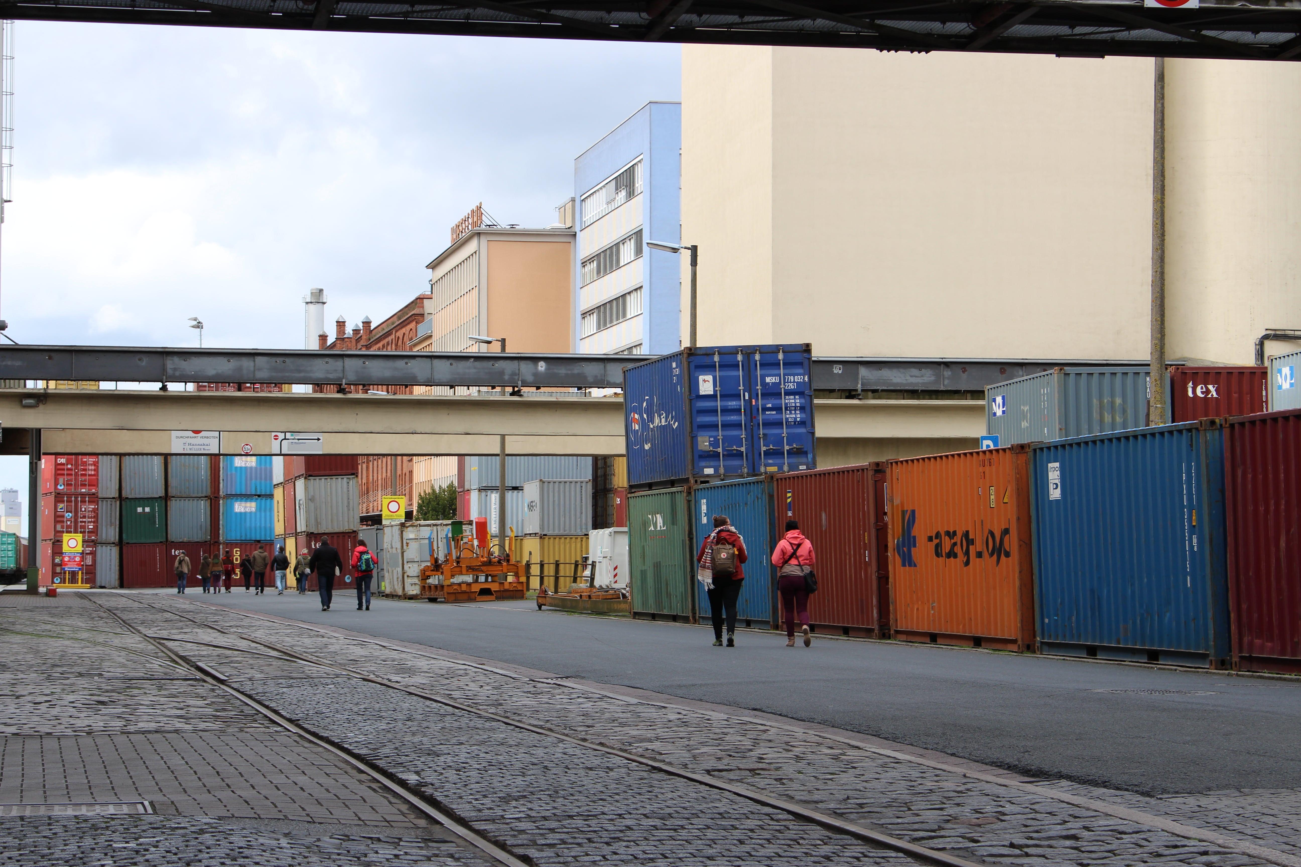 Hanseatische Architektur in Bremen.