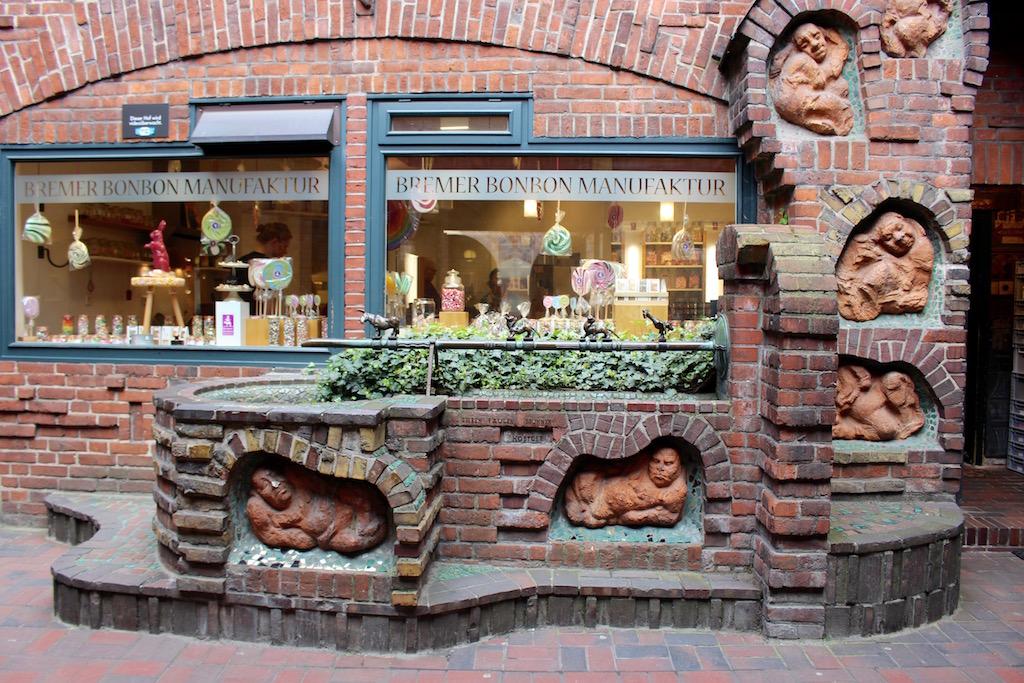 Leckere Bonbonmanufaktur in Bremen.