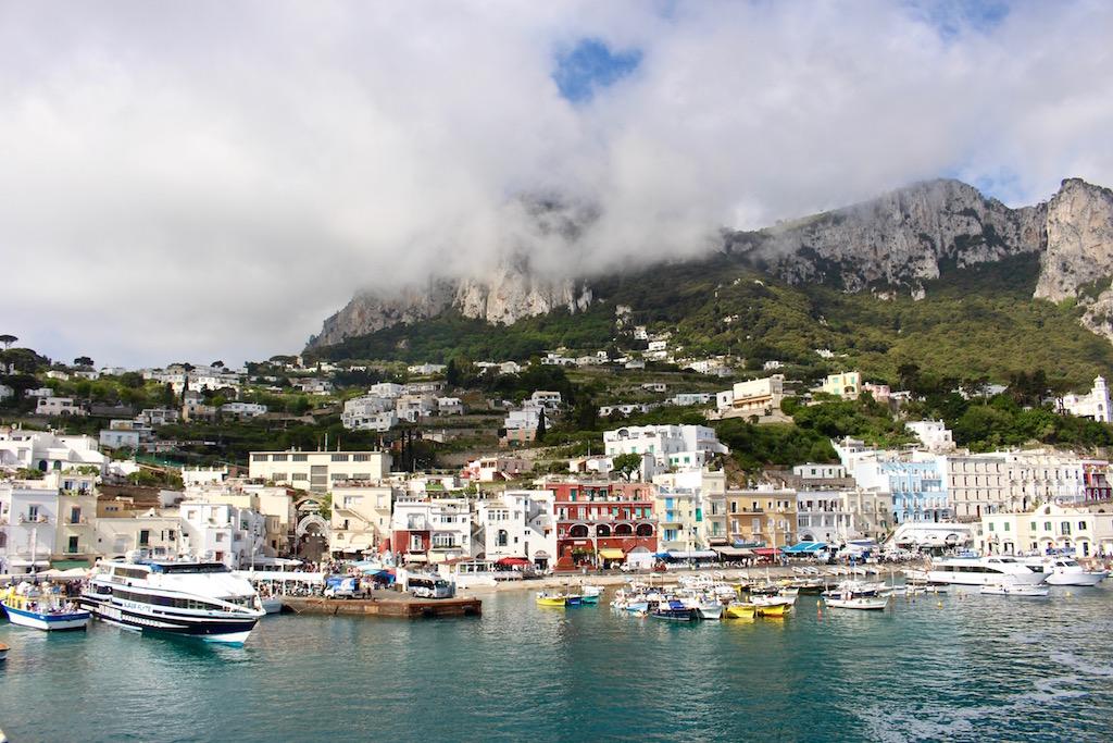 Die Ankunft auf Capri ist unvergleichlich.