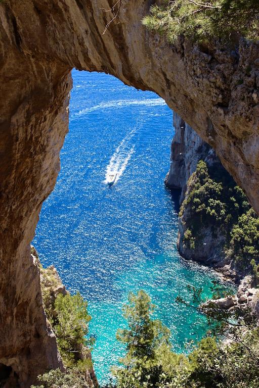 Der Arco Naturale auf Capri.