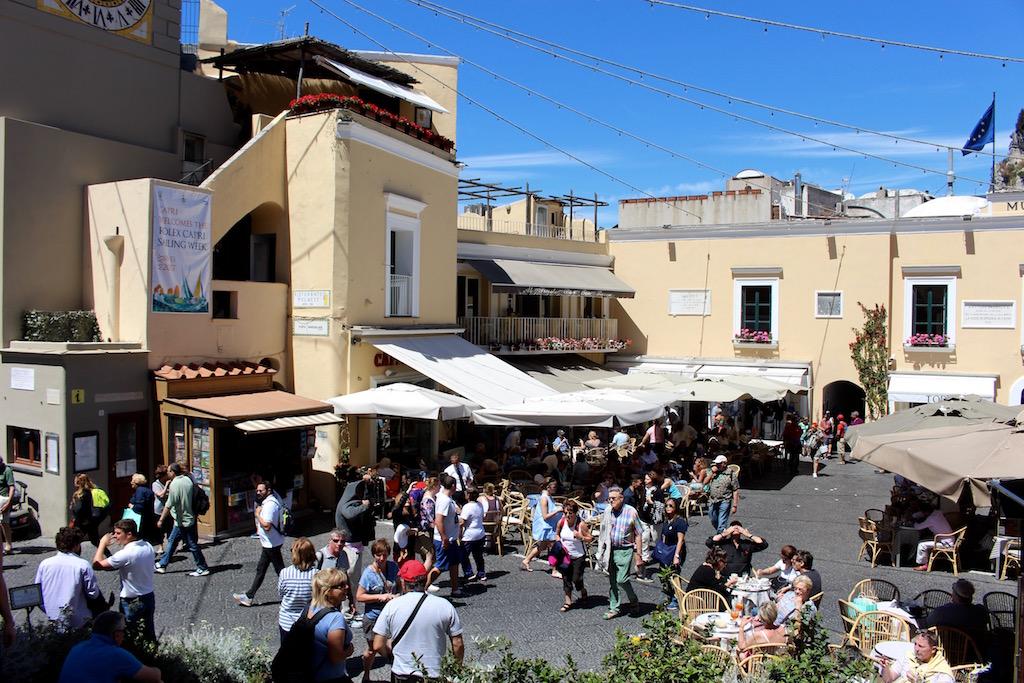 Die Piazzetta, das touristische Zentrum Capris.