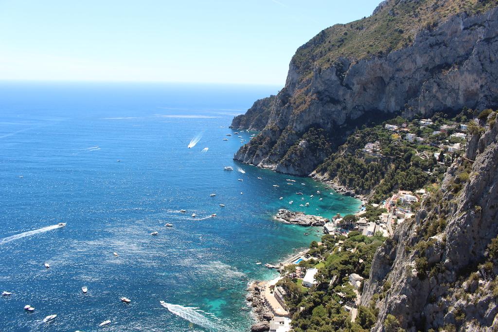 Eine herrliche Aussicht vom Punta Cannone.