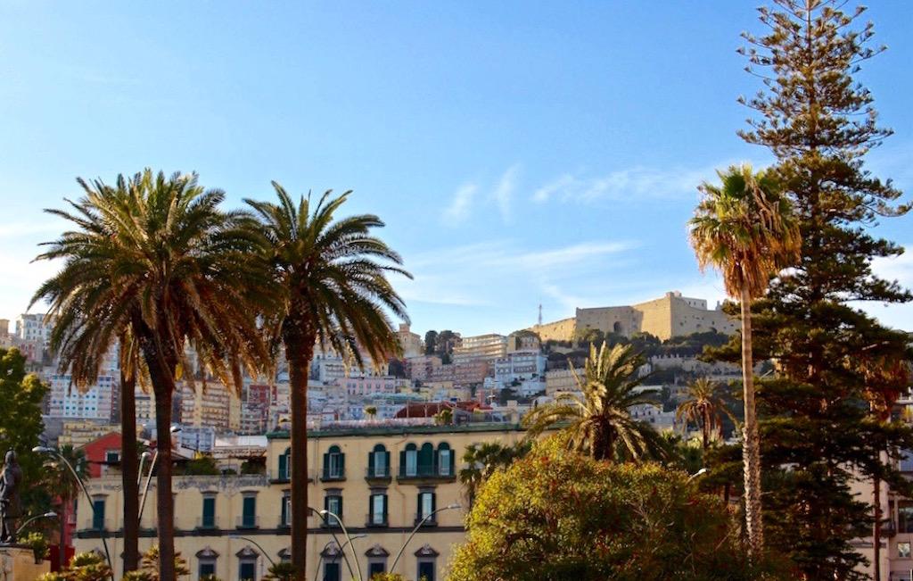 Das Viertel Chiaia in Neapel.