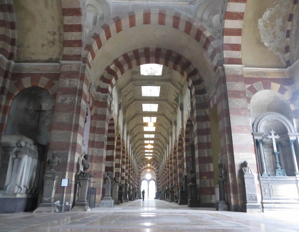 Der Cimitero Monumentale in Mailand.Der Cimitero Monumentale in Mailand.