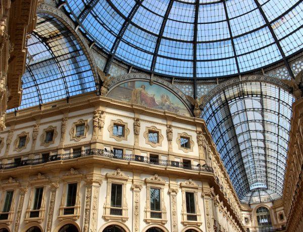 Besser gefällt mir da die Galleria Vittorio Emanuele.