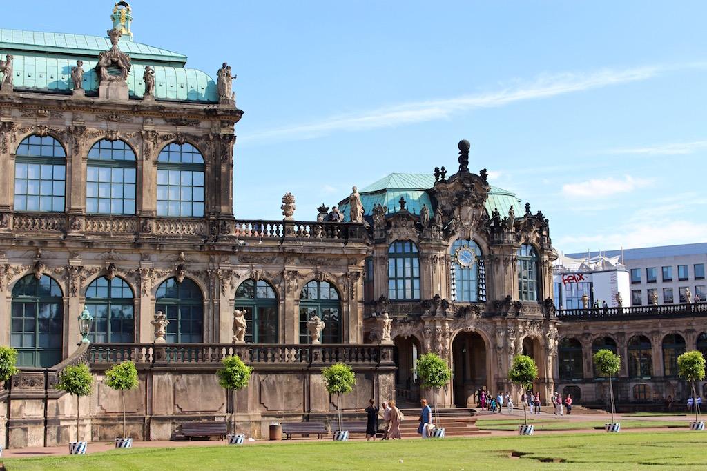 Dresden wie aus dem Bilderbuch...
