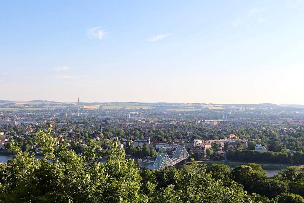 Der Balkon Dresdens.