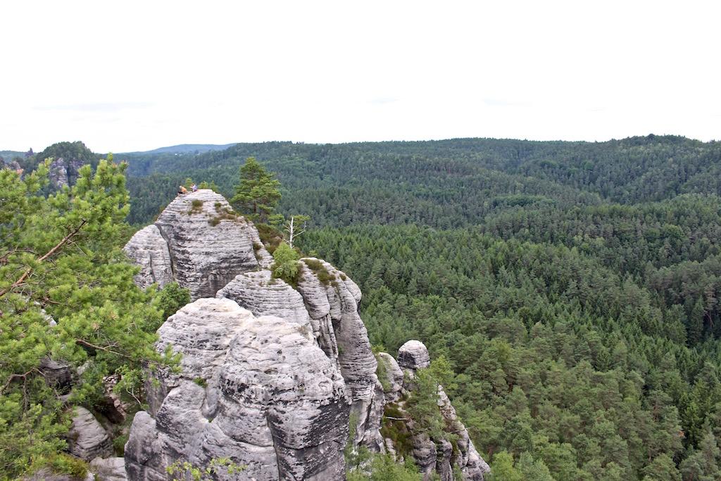 Die Gegend rund um den Gamrig ist ein Paradies für Wanderer und Kletterer.