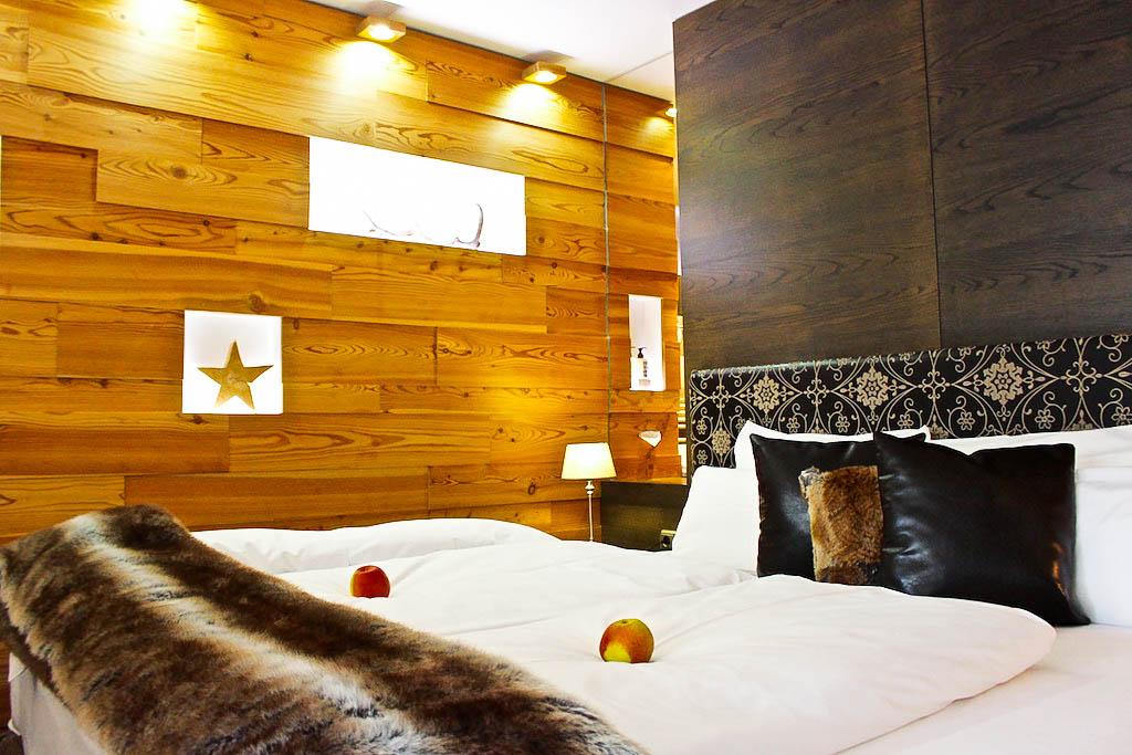Schlafen im Hotel Hubertus...