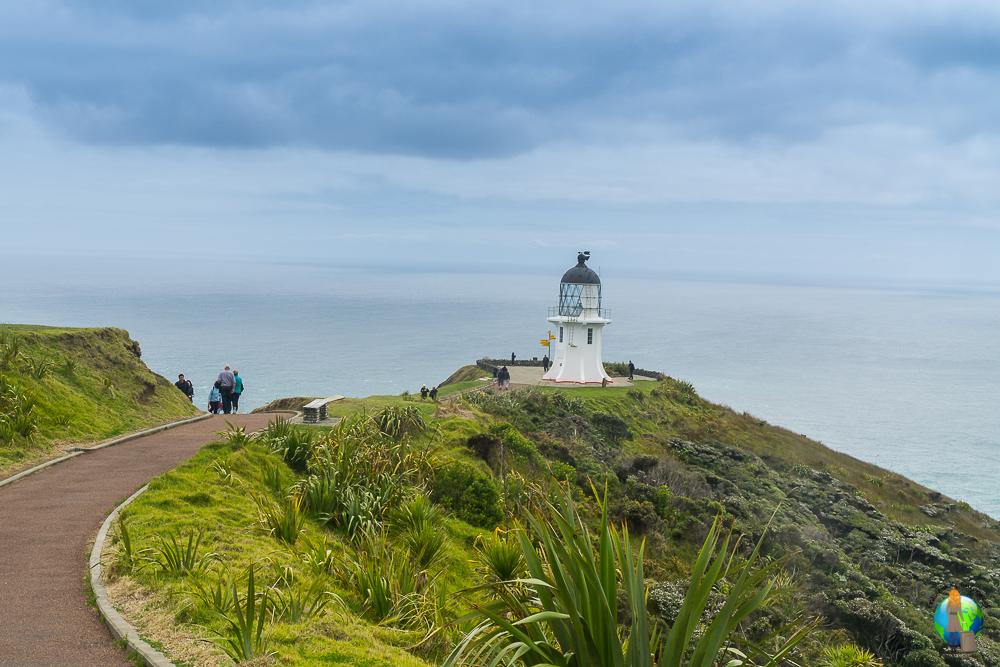 Der Leuchtturm von Cape Reinga.