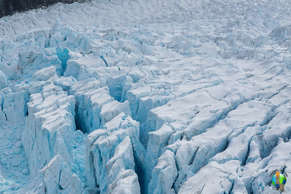 Der Franz-Josef-Gletscher in Neuseeland.