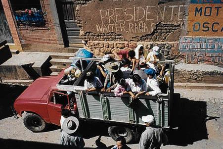So reist es sich in Bolivien...