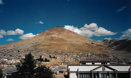 Potosi, ehemals reichste Stadt der Welt.