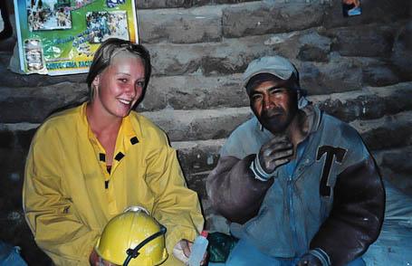 Bei den Mineros vom Cerro Rico.