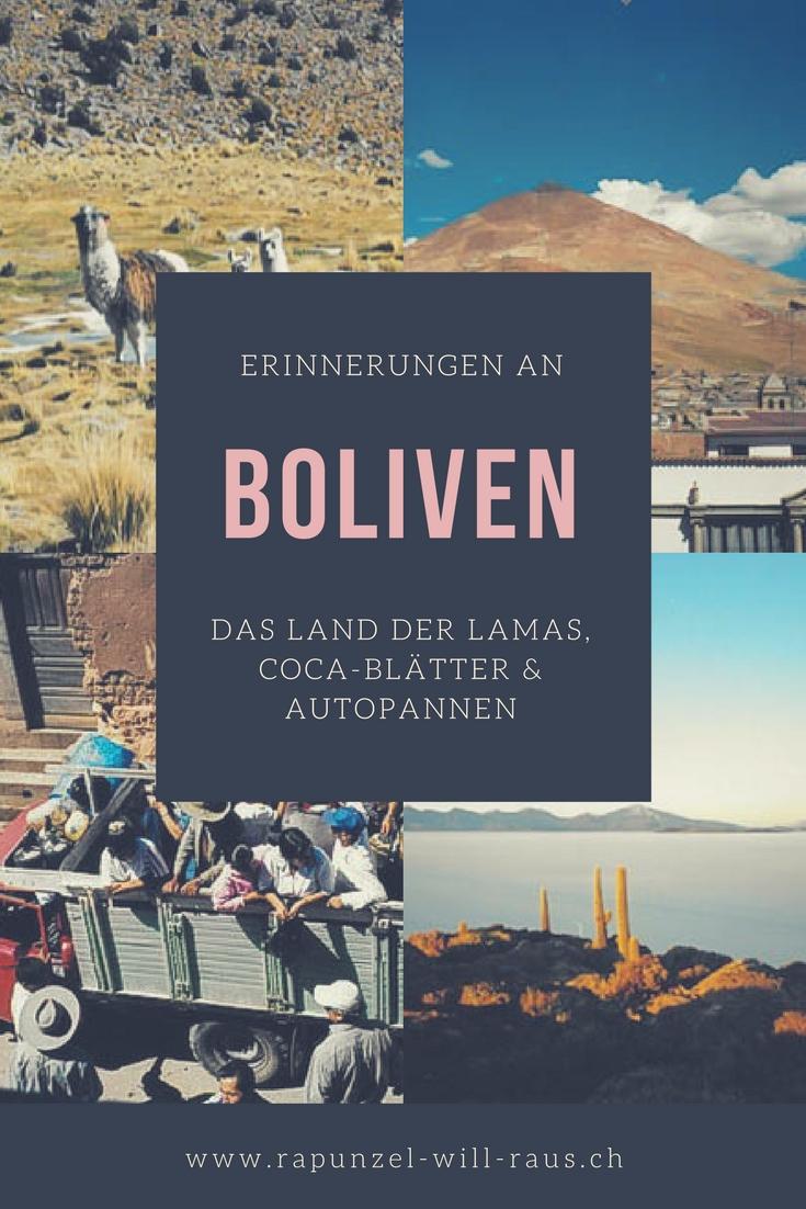 Bolivien - von Lamas, Coca-Blättern und Autopannen