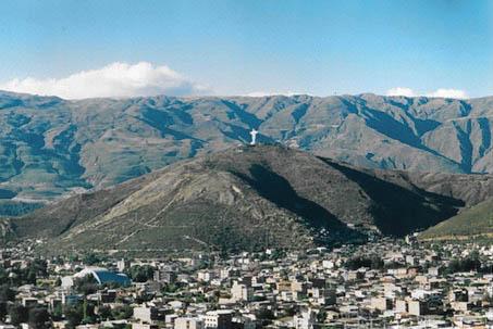 Ausblick auf Cochabamba.