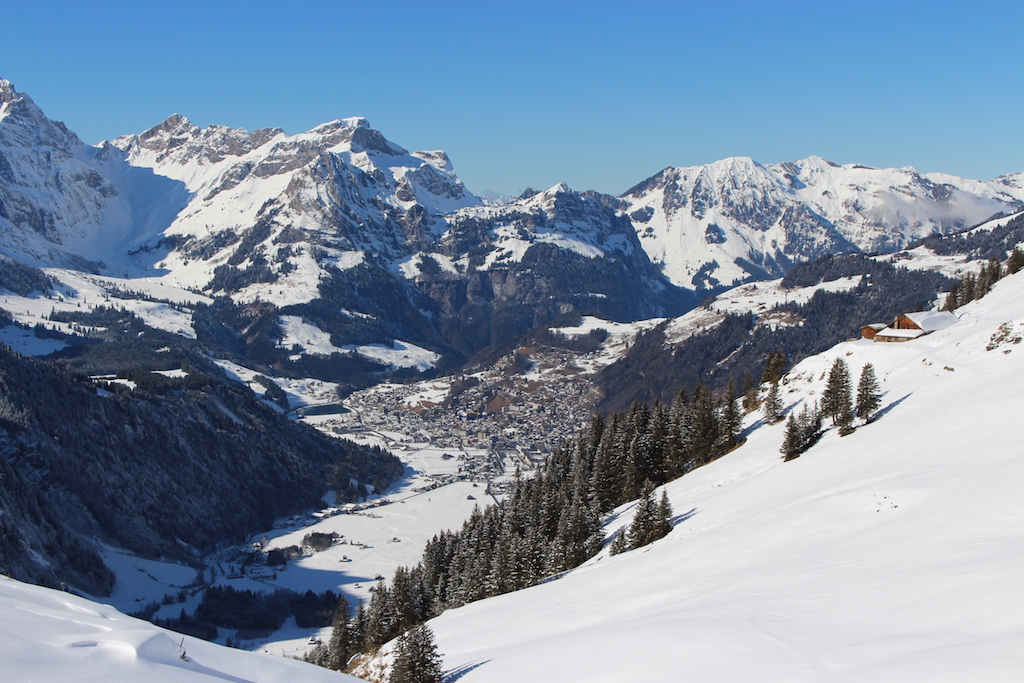Panorama in Engelberg