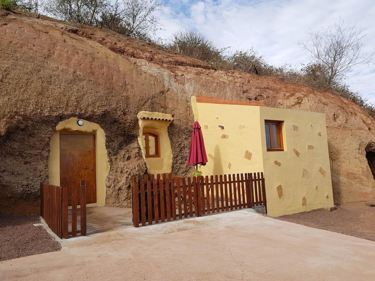 Unsere Höhlenwohnung in Fontanales.
