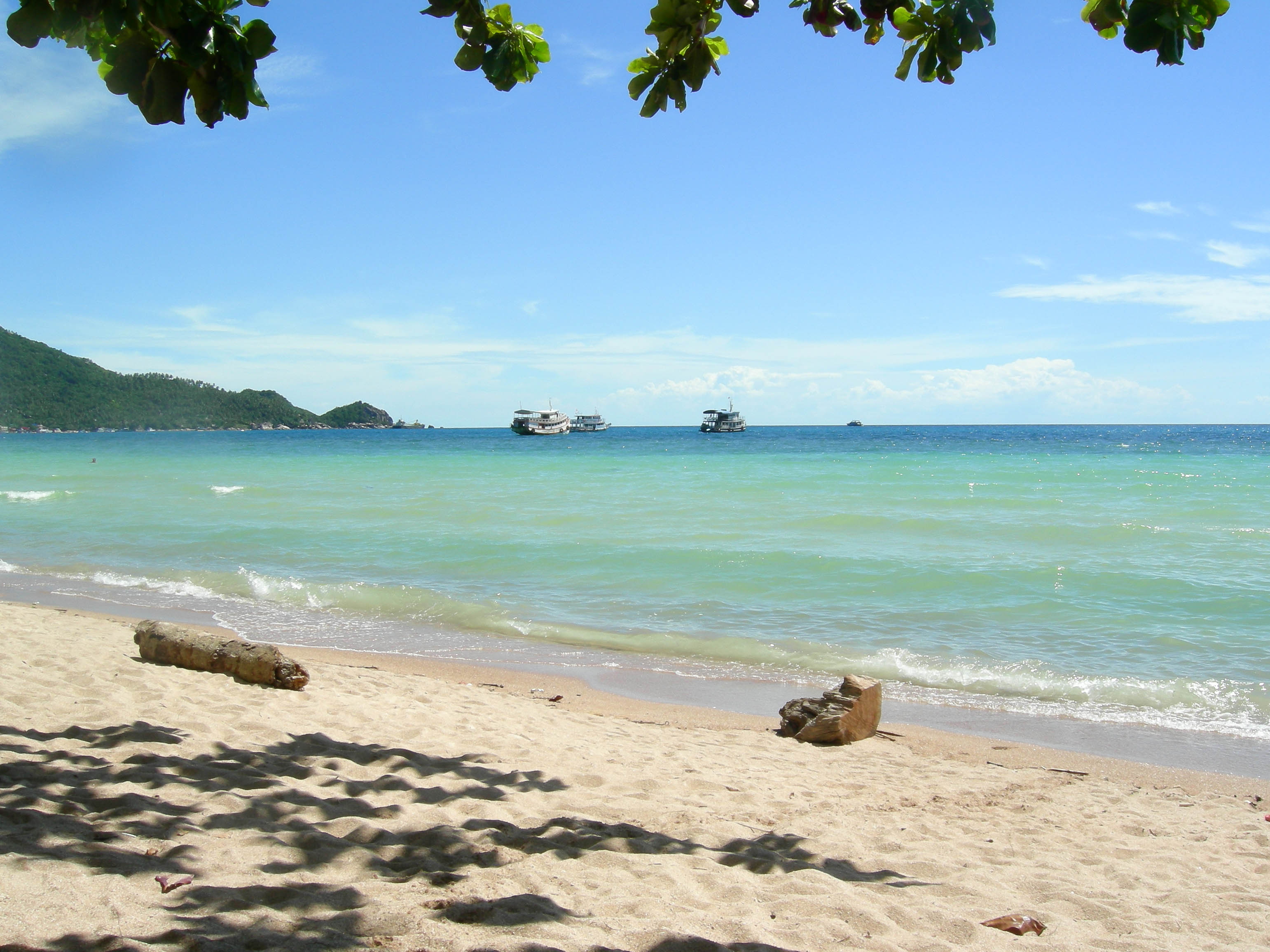 Inselleben auf Koh Tao.