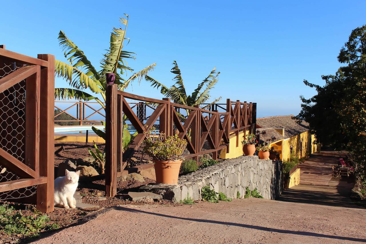 Eine Finca im Inselinnern Gran Canarias.