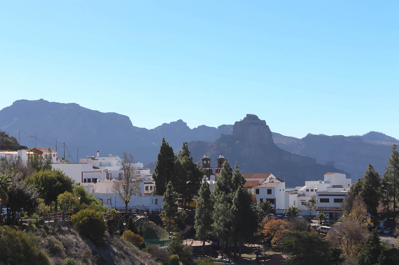 Artenara auf Gran Canaria.