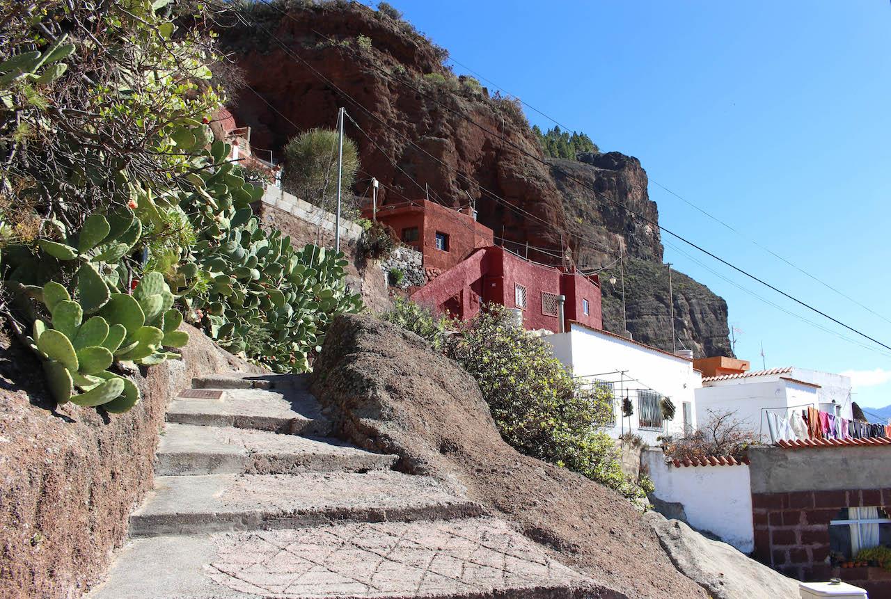 Höhlenwohnungen in Artenara.