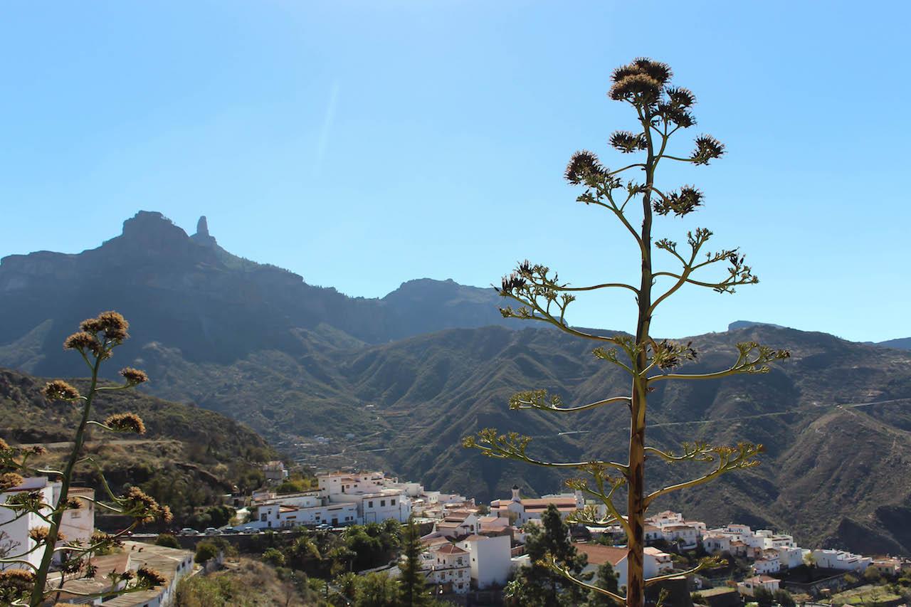 Artenara, das höchstgelegene Dorf auf Gran Canaria.