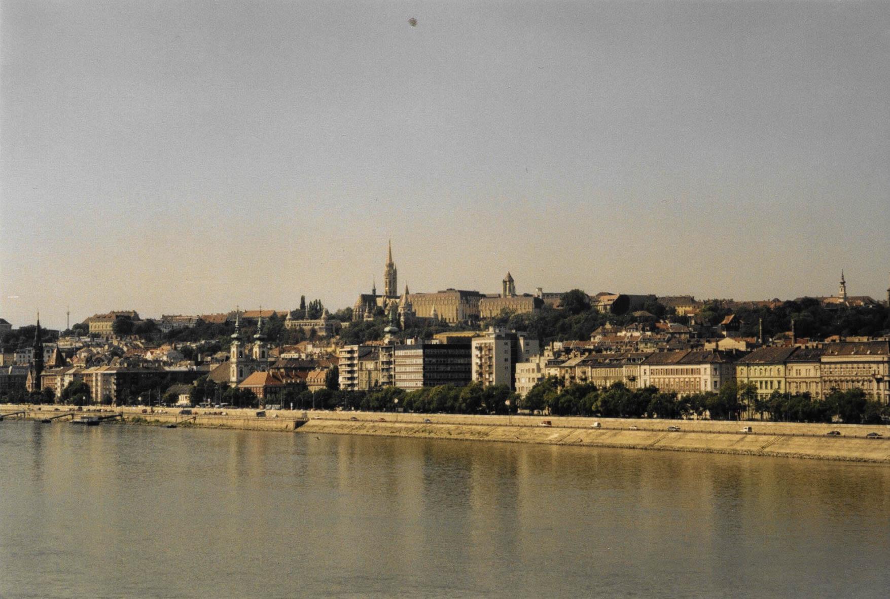 Budapest. Ein altes Bild aus alten Zeiten.
